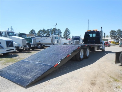 USED 2007 FREIGHTLINER COLUMBIA PRE EMISSIONS ROLLBACK TRUCK #6460-4