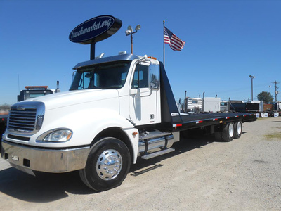 USED 2007 FREIGHTLINER COLUMBIA PRE EMISSIONS ROLLBACK TRUCK #6460-5