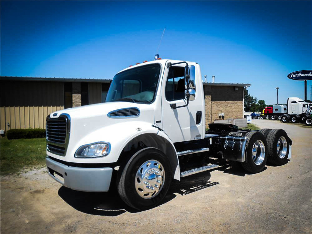 USED 2009 FREIGHTLINER M2 112 TANDEM AXLE DAYCAB TRUCK #6511