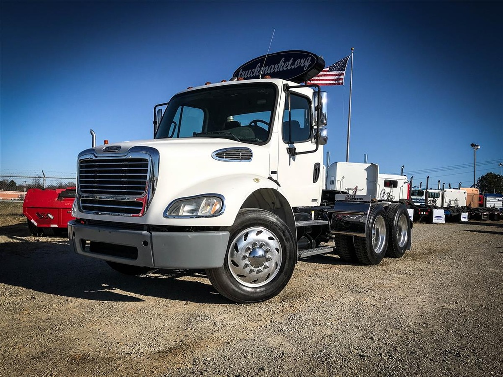 USED 2009 FREIGHTLINER M2 112 TANDEM AXLE DAYCAB TRUCK #6512
