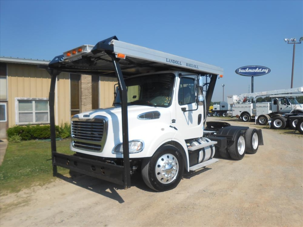 USED 2012 FREIGHTLINER M2 TANDEM AXLE DAYCAB TRUCK #6594