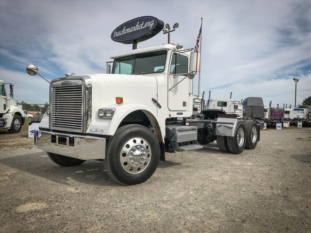 USED 2008 FREIGHTLINER FLD120 CLASSIC TANDEM AXLE DAYCAB TRUCK #6713