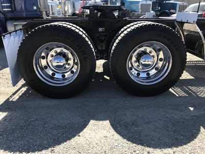 USED 2005 KENWORTH T800 TANDEM AXLE DAYCAB TRUCK #6844-5