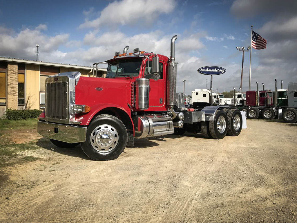 USED 2007 PETERBILT 379 EXHD TANDEM AXLE DAYCAB TRUCK #6898