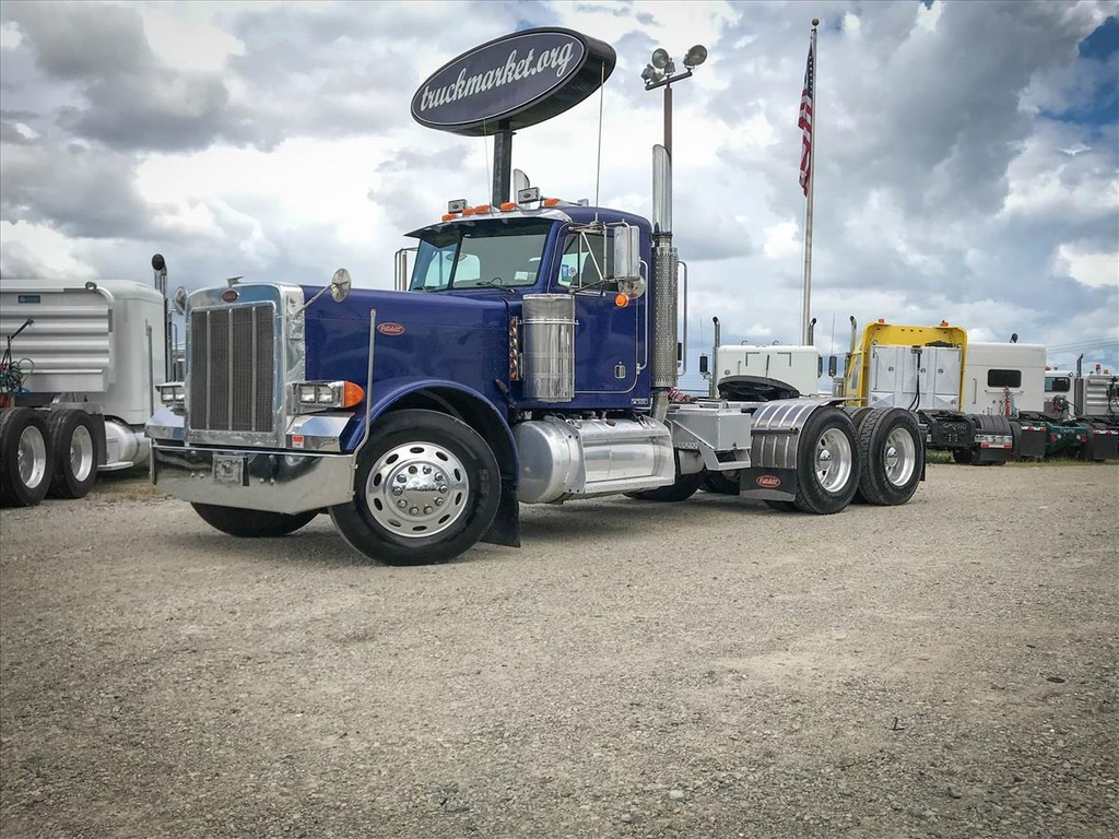 USED 2005 PETERBILT 379 EXHD TANDEM AXLE DAYCAB TRUCK #7103