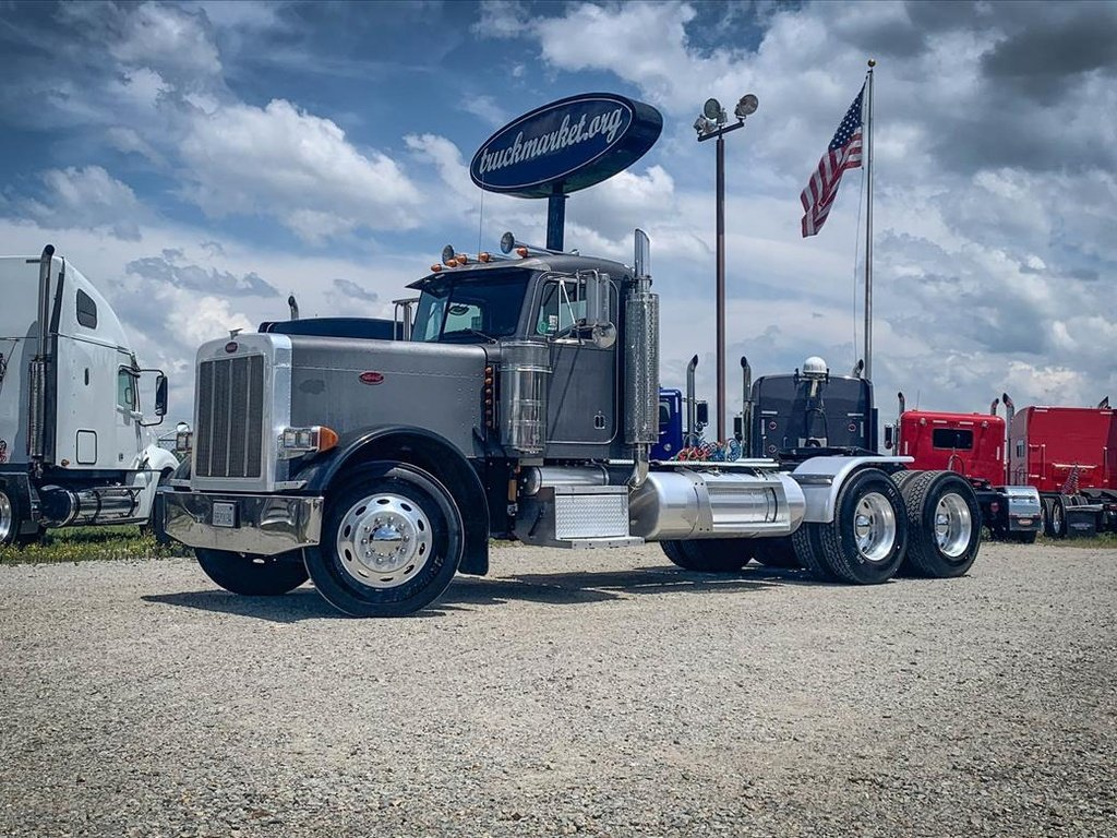 USED 1999 PETERBILT 379 EXHD TANDEM AXLE DAYCAB TRUCK #88131