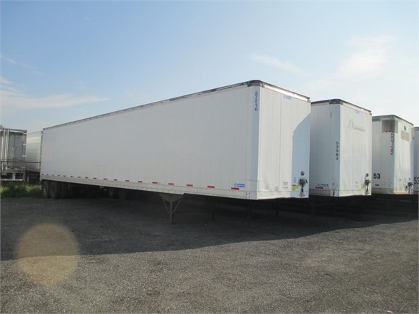 USED 2005 STOUGHTON SHEET/POST VAN TRAILER #1012
