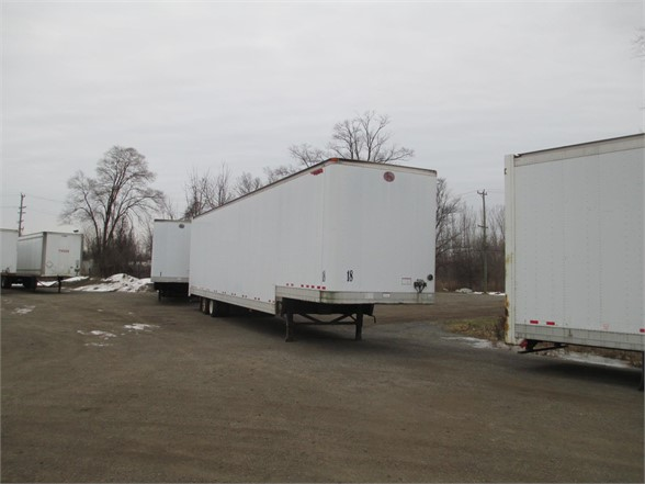 USED 1998 GREAT DANE DROP VAN VAN TRAILER #1247