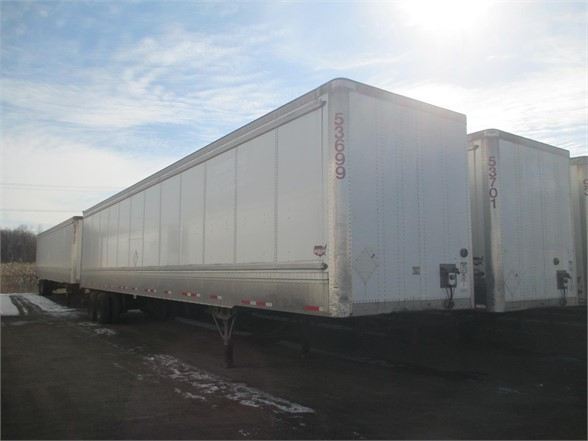 USED 2011 WABASH HD VAN TRAILER #1271