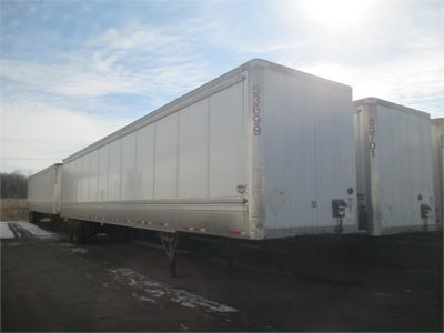 USED 2011 WABASH HD VAN TRAILER #1271-1