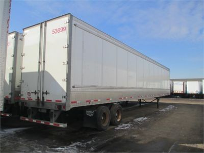 USED 2011 WABASH HD VAN TRAILER #1271-2