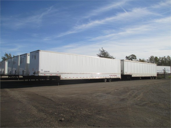 USED 2004 WABASH DROP VAN VAN TRAILER #1276