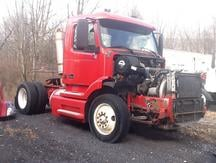 USED 2000 VOLVO VNM42T SINGLE AXLE DAYCAB TRUCK #7992-2