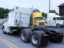 USED 2006 INTERNATIONAL 9200I TANDEM AXLE SLEEPER TRUCK #8131-2