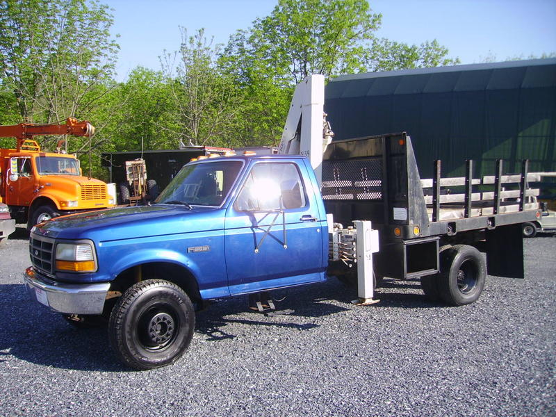 USED 1996 FORD F450 2WD PICKUP TRUCK #8334