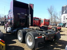 USED 2006 INTERNATIONAL 9200I TANDEM AXLE SLEEPER TRUCK #8410-3