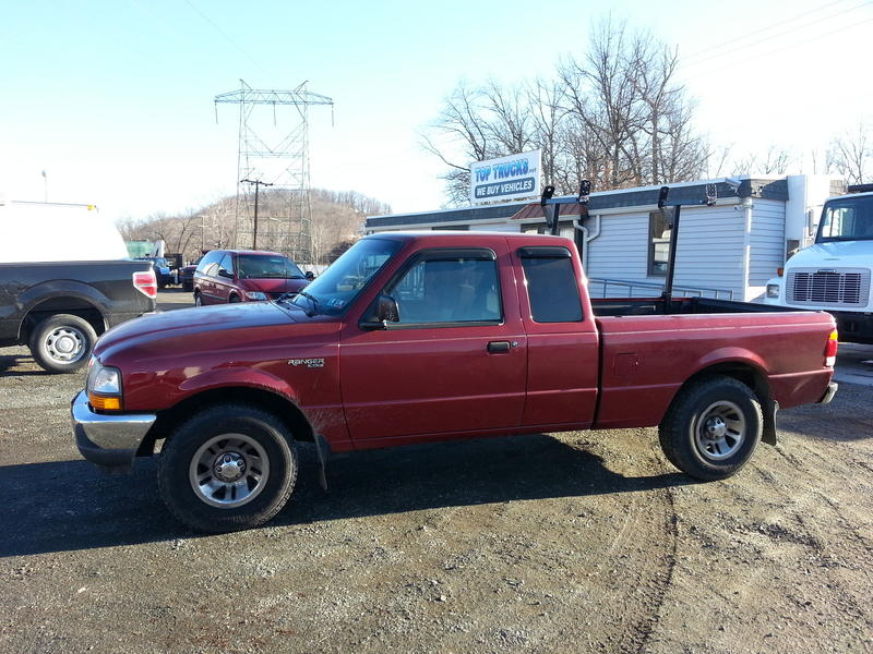 USED 1999 FORD RANGER 2WD PICKUP TRUCK #8413