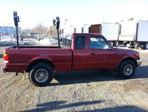 USED 1999 FORD RANGER 2WD PICKUP TRUCK #8413-3