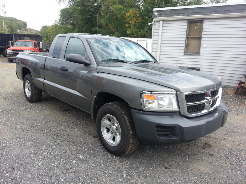 USED 2008 DODGE DAKOTA 2WD PICKUP TRUCK #8433