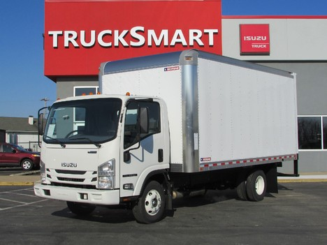 NEW 2019 ISUZU NPR EFI 16 FT BOX VAN TRUCK #11299