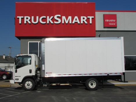 NEW 2019 ISUZU NPR EFI 16 FT BOX VAN TRUCK #11299-4