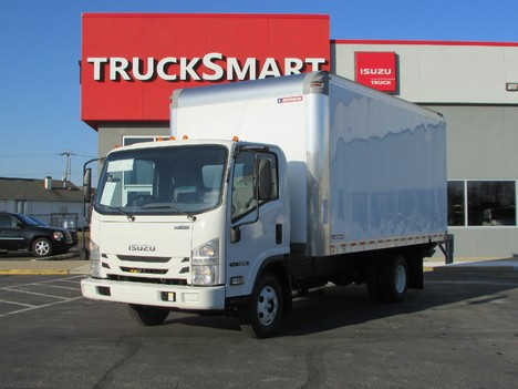 NEW 2019 ISUZU NPR EFI 16 FT BOX VAN TRUCK #11300
