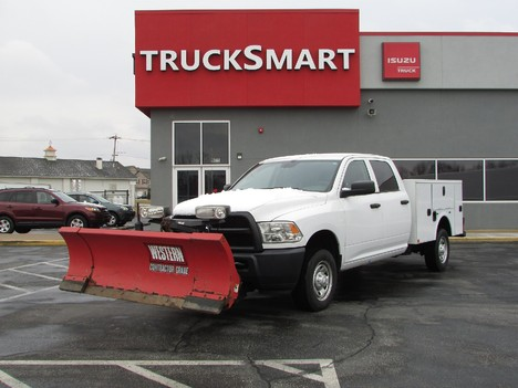USED 2017 RAM 2500 ST SERVICE - UTILITY TRUCK #11338-15