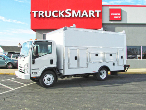 NEW 2019 ISUZU NPR-HD EFI WORKPORT SERVICE - UTILITY TRUCK #11383