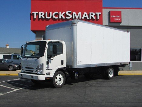 NEW 2020 ISUZU NQR BOX VAN TRUCK #11415