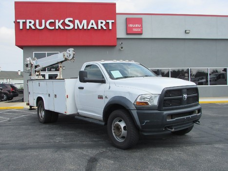 USED 2012 RAM 5500 SERVICE - UTILITY TRUCK #11542