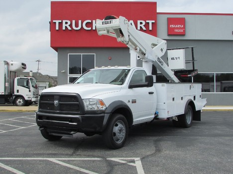 USED 2012 RAM 5500 SERVICE - UTILITY TRUCK #11543