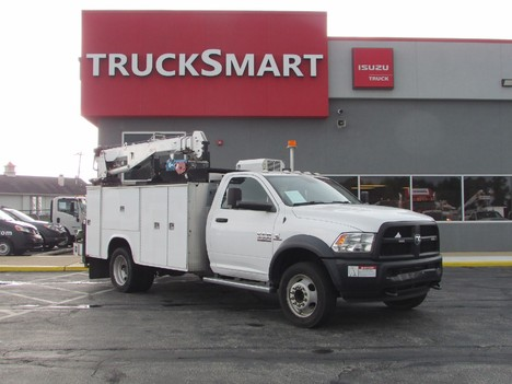 USED 2015 RAM 5500 SERVICE - UTILITY TRUCK #11545