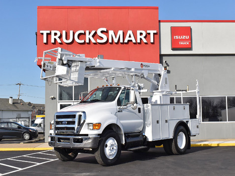 USED 2013 FORD F750 SERVICE - UTILITY TRUCK #11554