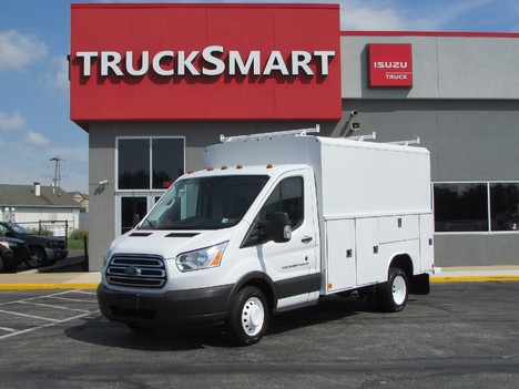 USED 2016 FORD TRANSIT T350 SERVICE - UTILITY TRUCK #11604