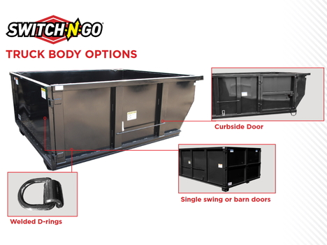 NEW OTHER 14 FT SWITCH-N-GO ROLL-OFF BODY TRUCK BODY #11939-2