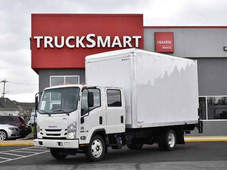 NEW 2021 ISUZU NPR-HD CREW CAB 16 FT BOX VAN TRUCK #12298