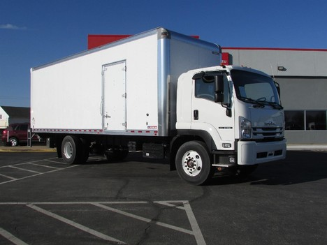 NEW 2020 ISUZU FTR 26 FT BOX VAN TRUCK #12306