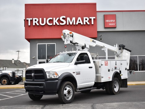 USED 2018 RAM 4500 SERVICE - UTILITY TRUCK #12331