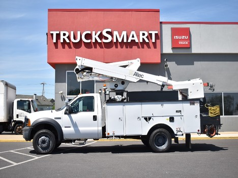 USED 2007 FORD F550 SERVICE - UTILITY TRUCK #12369-5