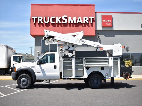 USED 2007 FORD F550 SERVICE - UTILITY TRUCK #12369-7