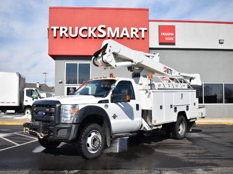 USED 2016 FORD F550 SERVICE - UTILITY TRUCK #12398