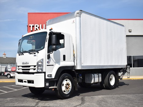 USED 2018 ISUZU FTR 16 FT BOX VAN TRUCK #12470