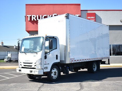 USED 2019 ISUZU NPR-XD 20 FT BOX VAN TRUCK #12499