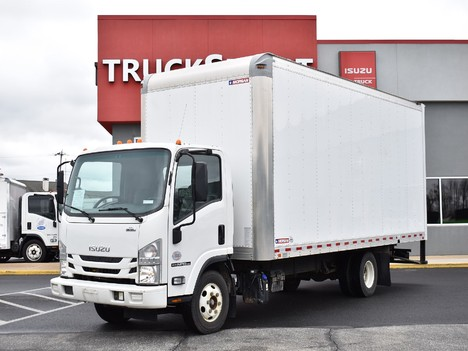 USED 2018 ISUZU NPR-HD 20 FT BOX VAN TRUCK #12500