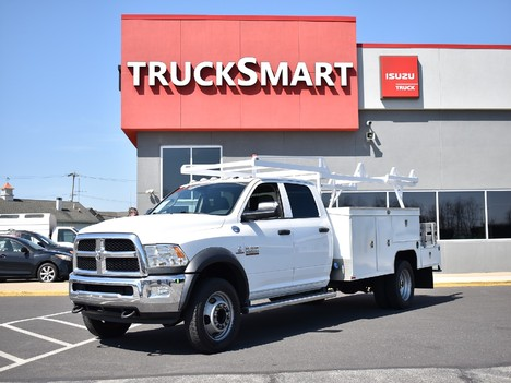 USED 2015 RAM 5500 CREW CAB 4X4 SERVICE - UTILITY TRUCK #12505