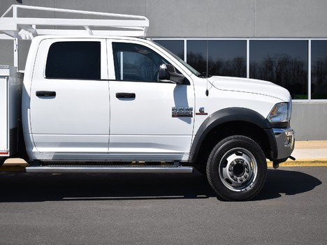 USED 2015 RAM 5500 CREW CAB 4X4 SERVICE - UTILITY TRUCK #12505-14