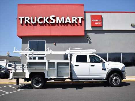 USED 2015 RAM 5500 CREW CAB 4X4 SERVICE - UTILITY TRUCK #12505-16
