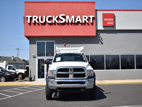 USED 2015 RAM 5500 CREW CAB 4X4 SERVICE - UTILITY TRUCK #12505-2