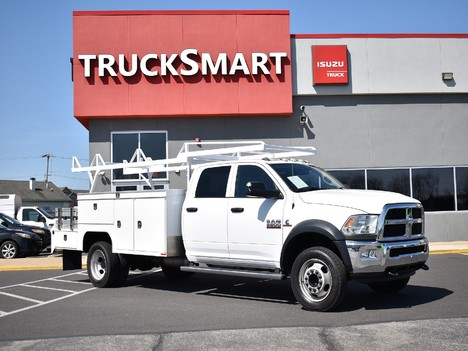 USED 2015 RAM 5500 CREW CAB 4X4 SERVICE - UTILITY TRUCK #12505-3