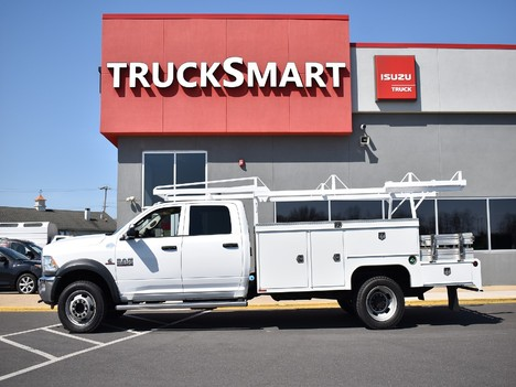 USED 2015 RAM 5500 CREW CAB 4X4 SERVICE - UTILITY TRUCK #12505-4